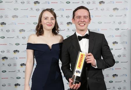 Previous Next Gen Winners Morven Fraser & Joshua de Wit