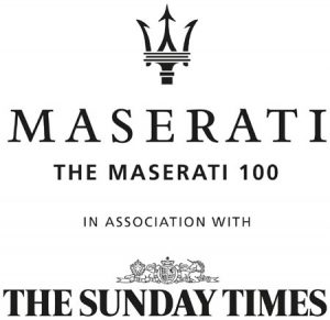 REVEALED: 'THE MASERATI 100'ONE HUNDRED BUSINESS DISRUPTORS CHALLENGING THE ESTABLISHMENT
