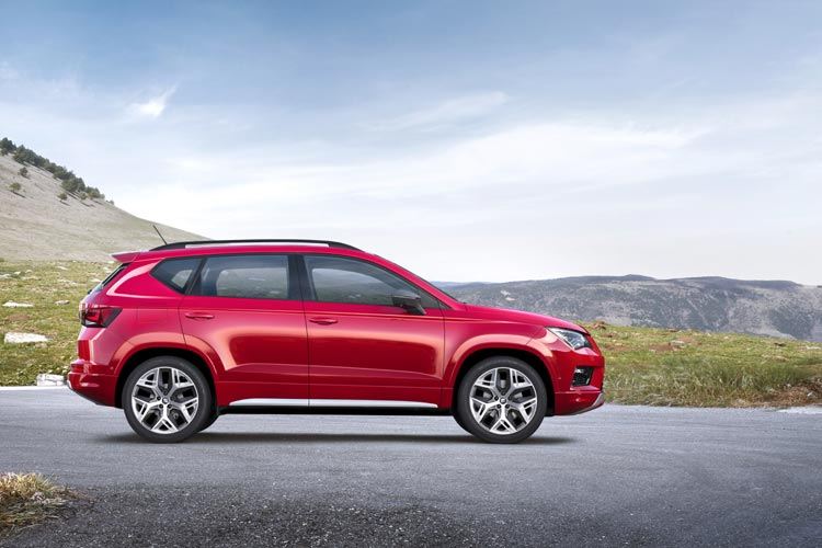 SEAT ANNOUNCES UK PRICING AND SPECIFICATION FOR NEW ATECA FR-3