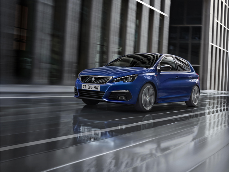 PEUGEOT REVEALS NEW 308 WITH ENHANCED STYLING AND TECHNOLOGY-2