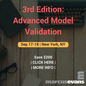 3rd Edition- Advanced Model Validation