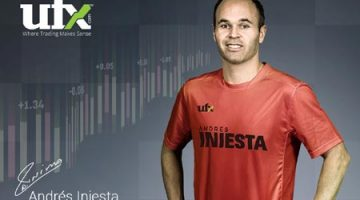 UFX ANNOUNCES PARTNERSHIP WITH FOOTBALL MASTERMIND ANDRÉS INIESTA