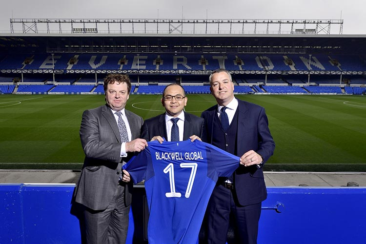 Blackwell Everton Partnership Announcement
