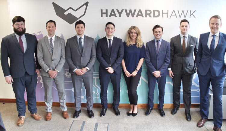 JAMES CAAN CBE'S ONLY IRISH INVESTMENT, HAYWARD HAWK, CELEBRATES SUCCESS ON ITS FIRST YEAR ANNIVERSARY.