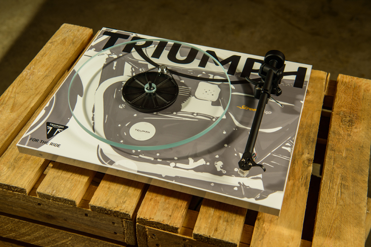 custom-printed plinth