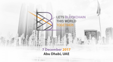 REGISTRATION FOR BLOCKCHAIN CONFERENCE ABU DHABI 2017 IS OPENED!