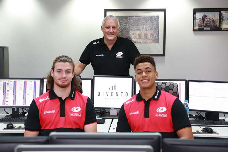 SARACENS SQUAD LEARN ABOUT FINANCIAL TRADING IN THE CITY OF LONDON