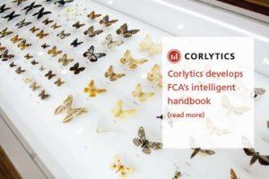 CORLYTICS DEVELOPS FCA'S INTELLIGENT HANDBOOK