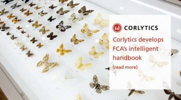 CORLYTICS DEVELOPS FCA'S INTELLIGENT HANDBOOK