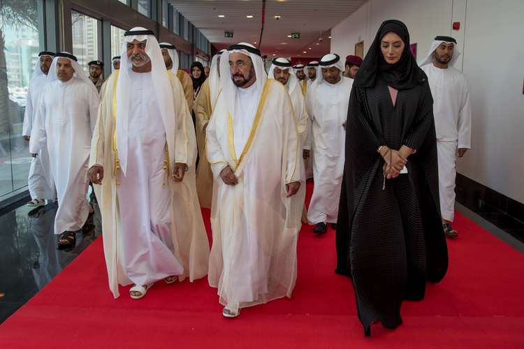 SHARJAH RULER ATTENDS THE FIRST WOMEN'S ECONOMIC EMPOWERMENT GLOBAL SUMMIT INAUGURAL CEREMONY-3