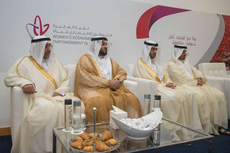 SHARJAH RULER ATTENDS THE FIRST WOMEN'S ECONOMIC EMPOWERMENT GLOBAL SUMMIT INAUGURAL CEREMONY-4