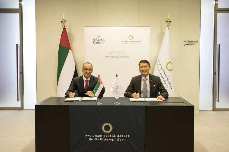 ABU DHABI GLOBAL MARKET PARTNERS DAMAN TO ENHANCE ABU DHABI'S FINTECH ECOSYSTEM RELATED TO INSURANCE SOLUTIONS