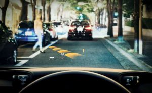 WORLD'S LARGEST IN-CAR HEAD-UP DISPLAY DEVELOPED BY DENSO TO SAFEGUARD ROAD-USERS
