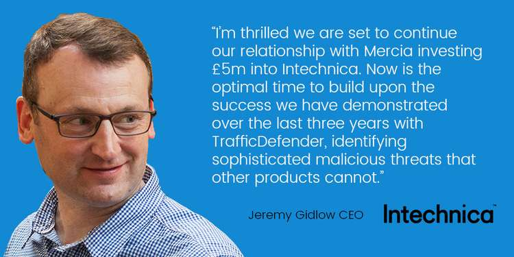 Jeremy Gidlow, Managing Director of Intechnica 2