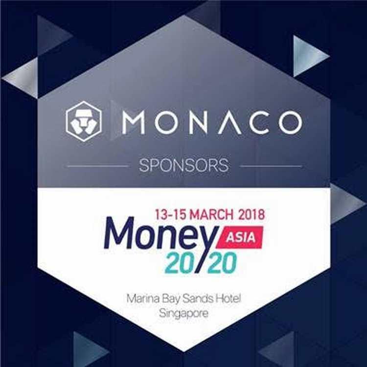 MONACO SPONSORS 2018 MONEY20/20 ASIA IN SINGAPORE
