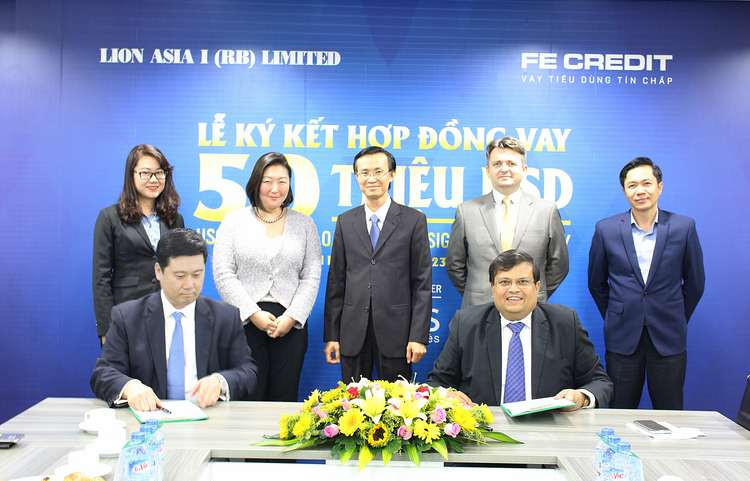 "FE CREDIT announced that it has completed a loan procedure with Lion Asia I (RB) Limited (""Lion Asia"")."