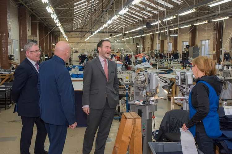 BRITISH MANUFACTURER WEARWELL WELCOMES MP FOR TAMWORTH AND DEPUTY CHIEF GOVERNMENT WHIP TO WEST MIDLANDS FACTORY