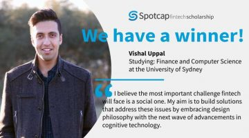 SPOTCAP AWARDS SCHOLARSHIP TO ASPIRING FINTECH ENTREPRENEUR