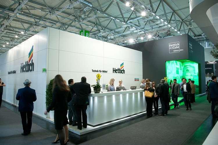 Hettich At Dubai International Furniture Accessories Components