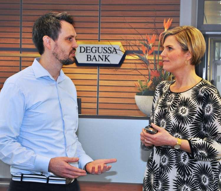 Robin Buschmann und Silke Christina Kummer
