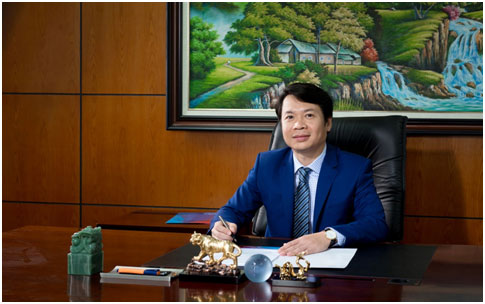 Mr. Le Tuan Dung in an interview with the reporter of Global Banking and Finance Review
