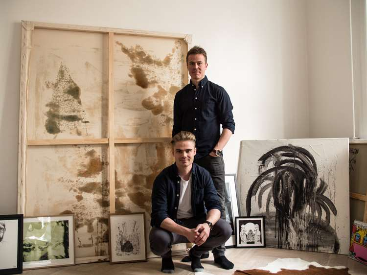 RAPIDLY GROWING ART APP RECEIVES FUNDING FROM ART HEAVYWEIGHTS AND SPORTS STARS