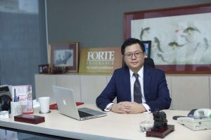 Charles Cheo, CEO of Forte Insurance
