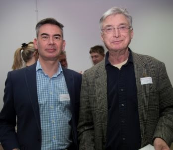 Karl Patterson, Business Process Manager of Future Energy Solutions and David Hardman, Chairman of Langtex Manufacturing Company