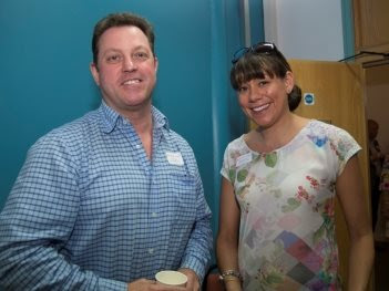 Stuart Rogan, Managing Director of HML Recycling and Astrid Stevenson from Moving People Ltd.