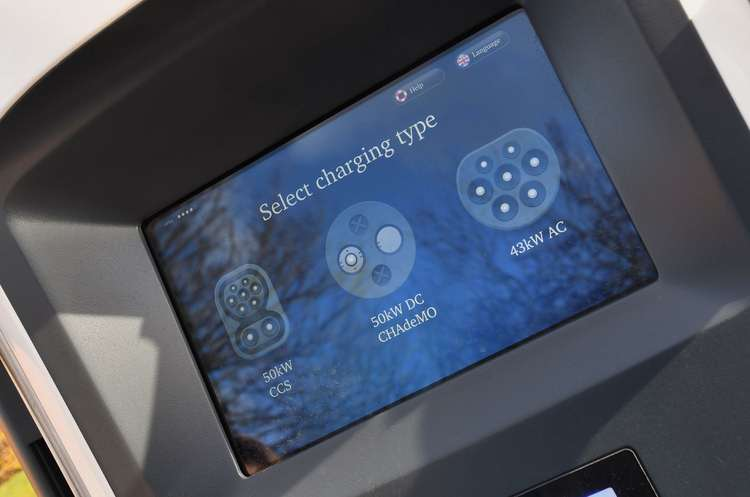 Charge Point Screen