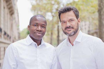 Tidjane Deme and Cyril Collon