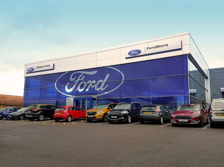 Essex Auto Group Ford forecourt