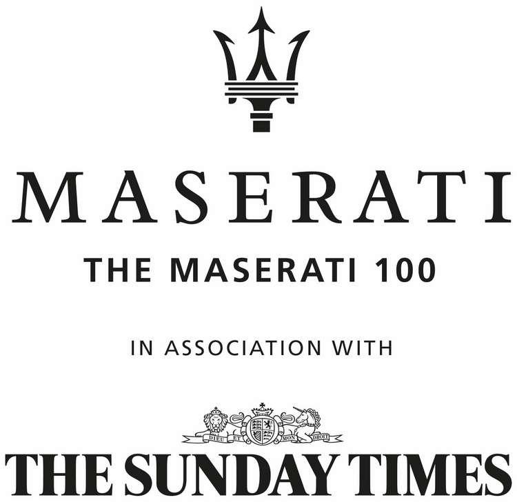2018 'Maserati 100': Maserati And The Sunday Times To Celebrate 100 Entrepreneurs In Great Britain