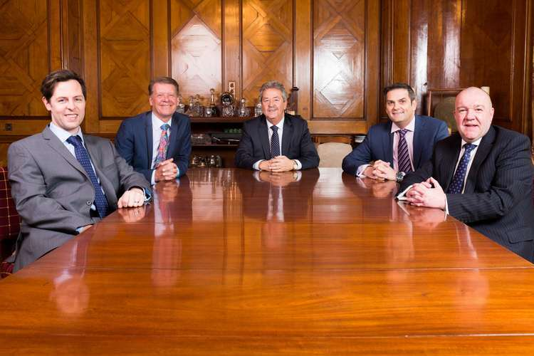 Left to Right - James Dobson, Marketing Director, Gareth Allen, Operations Director, John Dobson, CEO, Fraser Mitchell, Technical Director and Martin Cheek, Managing Director