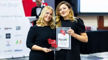 Paysafe - Bulgaria Company of the Year awards