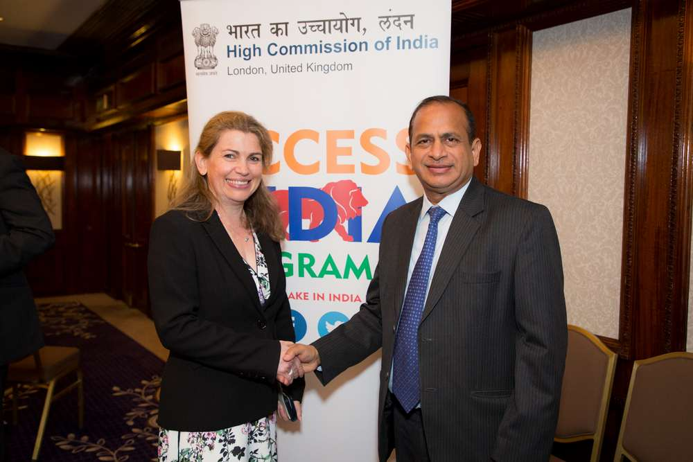 Joanne Dewar and Mr Ramesh Abhishek