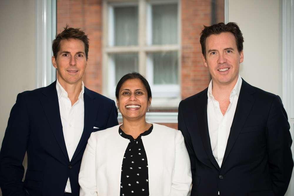 Alex Michelin (Co-Founder), Uma Rajah (CEO) and Andrew Dunn (Co-Founder)
