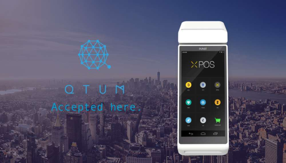 Qtum one step closer to mass adoption after point-of-sale deal with Pundi X