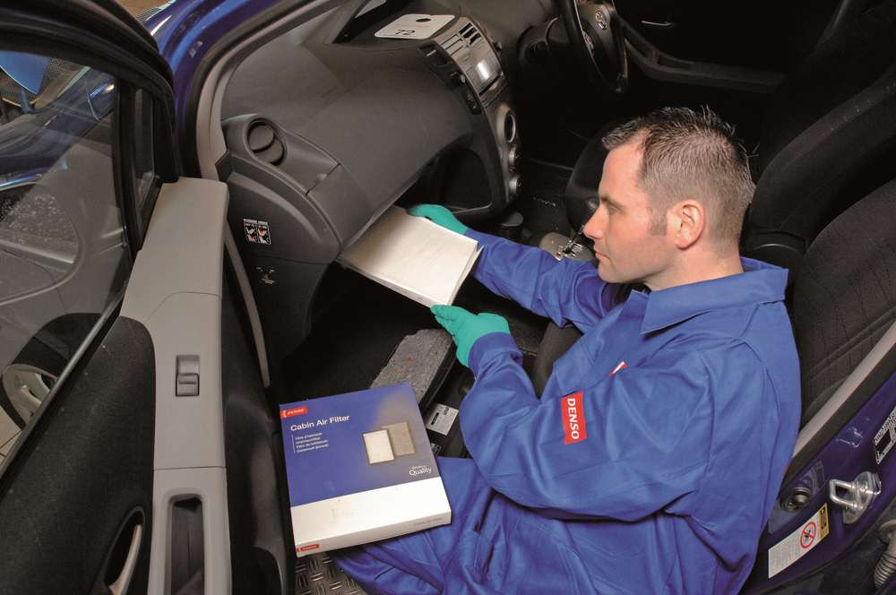 DENSO shows how Cabin Air Filters can safeguard drivers from harmful pollutants as threat of in-car pollution revealed
