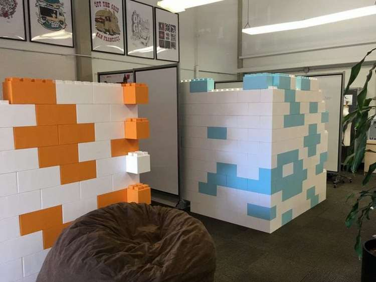 Everblocks are helping companies keep staff motivated with creative working environments