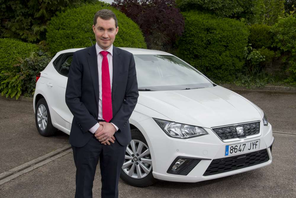 Peter McDonald, Head of Fleet & Business Sales, and Ibiza