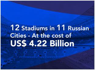 12 stadiums