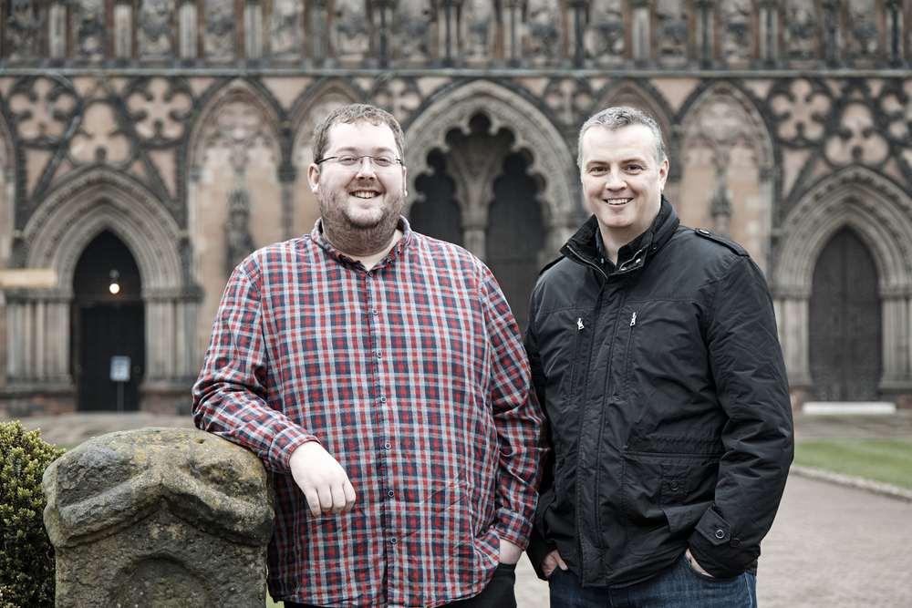 Alex Major and Paul Humphreys of RedBrain