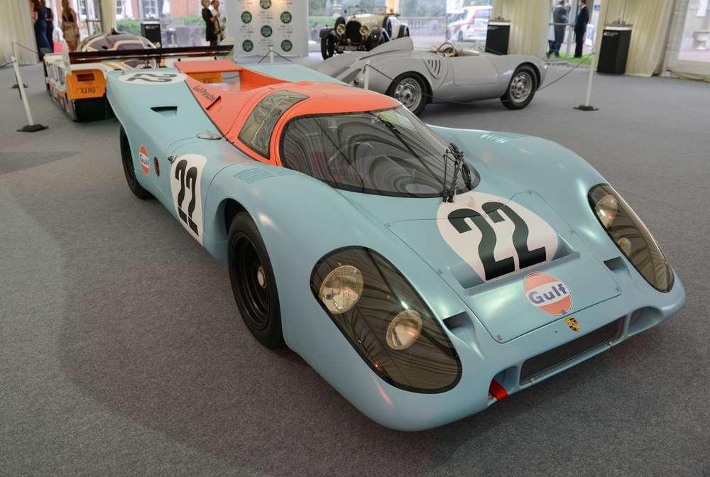 Motor Sport Hall of Fame winner - Porsche 917