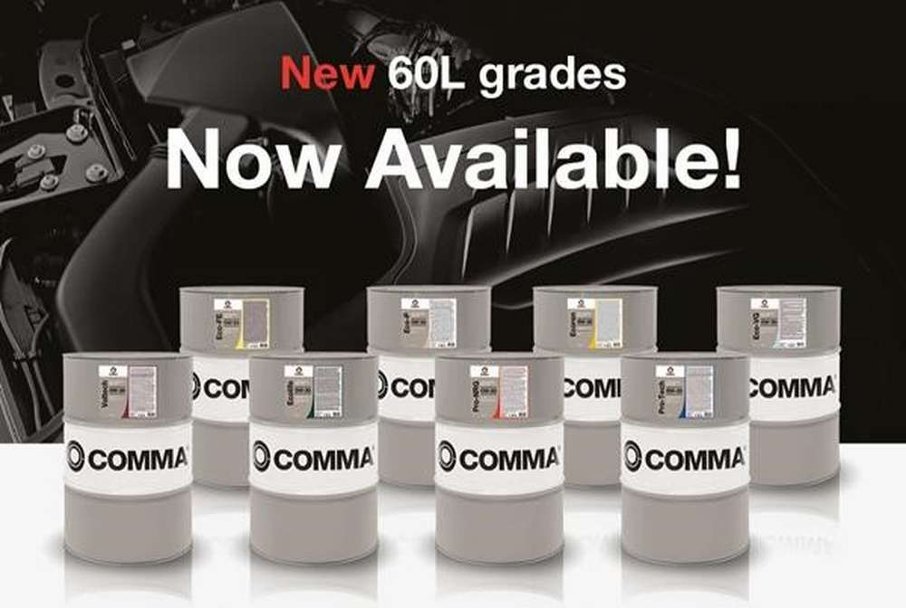 All-new Comma 60L Performance Motor Oil barrels optimise stock and coverage