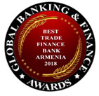 Global Banking and Finance Review is pleased to announce ArmSwissBank CJSC as the Best Trade Finance Bank in Armenia 2018 3
