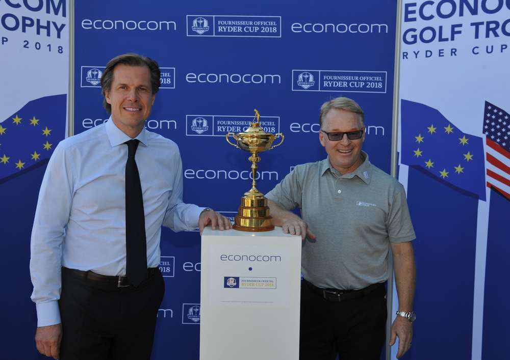 Robert Bouchard, CEO and Keith Pelley, CEO of European Tour