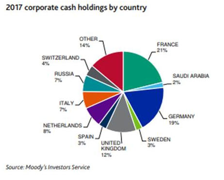 2017 corporate cash holding