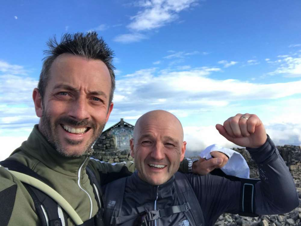 adi Group Employees Scale Three Peaks Heights Raising £8,000 for Heart Research UK-1