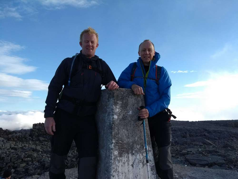 adi Group Employees Scale Three Peaks Heights Raising £8,000 for Heart Research UK-2